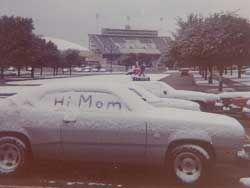 TCU Campus 1976