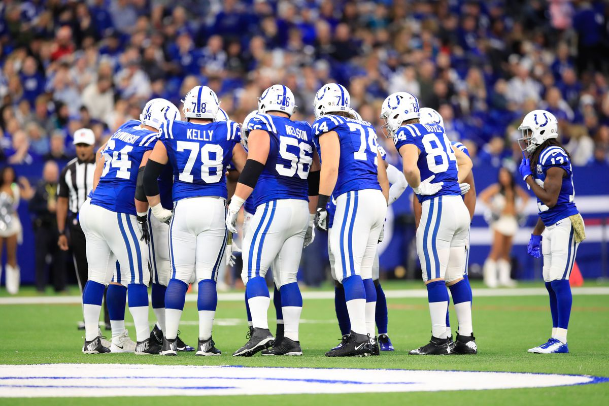 huge discount 3422b 10c53 Colts News: Jeff Saturday talks Quenton Nelson, offensive ...