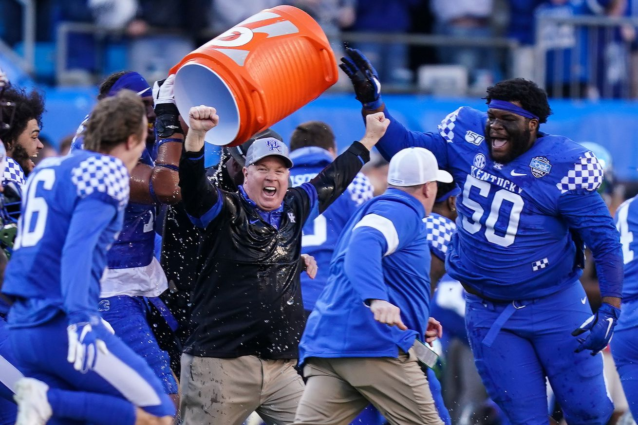 NCAA Football: Belk Bowl-Virginia Tech vs Kentucky