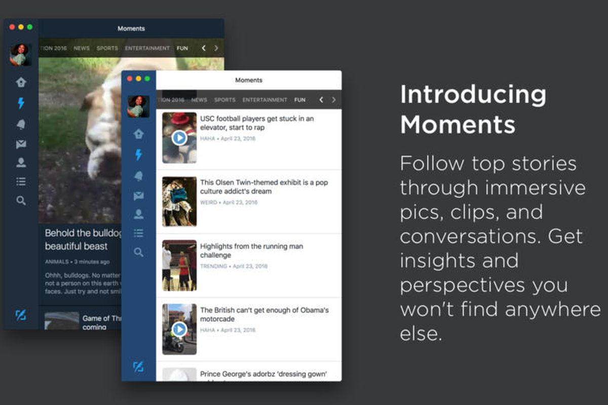 Twitter updates its Mac app with Moments and poll support - The Verge
