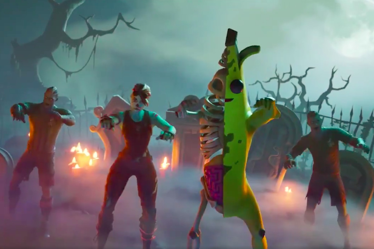 I Have Questions About The Zombie Peely Fortnite Skin Polygon