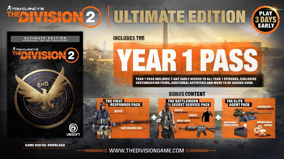 Which Version Of The Division 2 Should You Buy Polygon