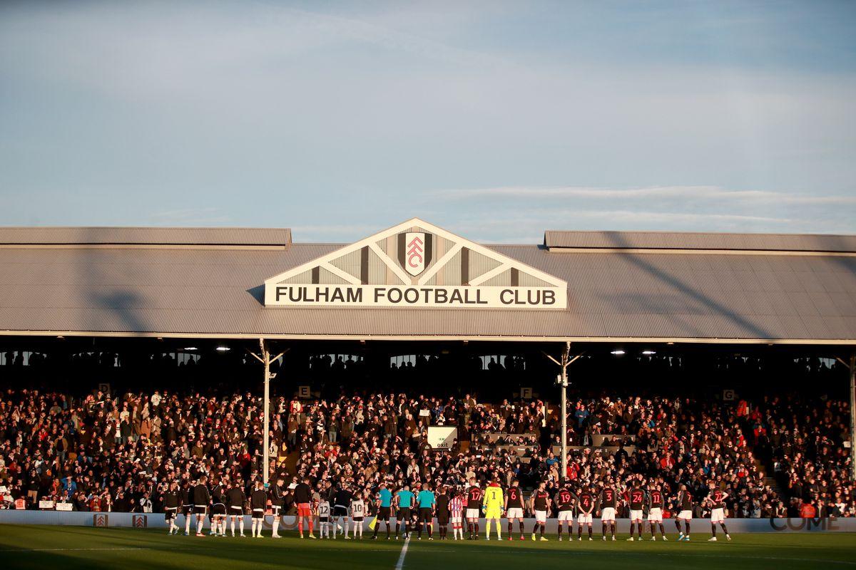 Fulham v Stoke City - Sky Bet Championship - Craven Cottage