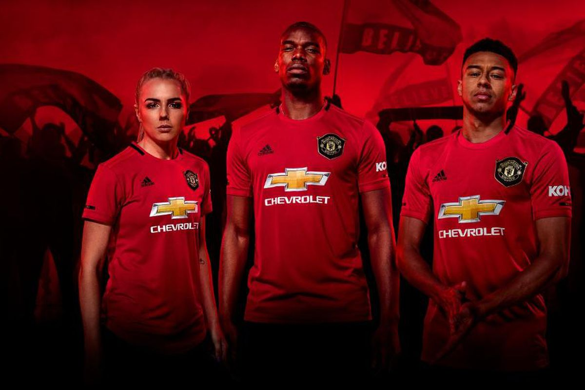 ffacb195487 Manchester United release new 2019/20 home kit - The Busby Babe