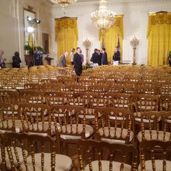 The East Room after ceremony