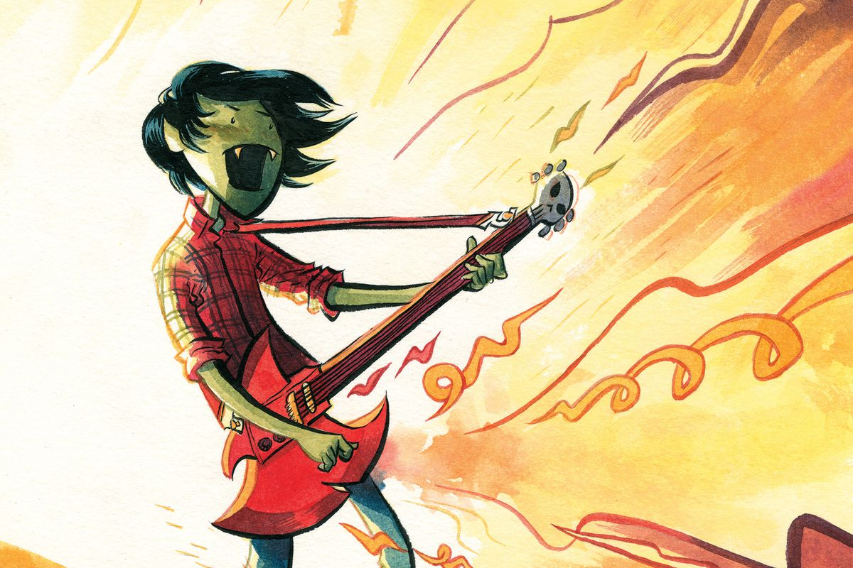 The Cover of Adventure Time: Marshall Lee Spectacular #1