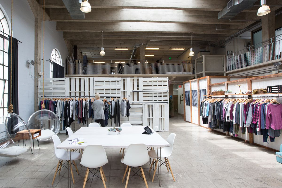 "A peek inside Alternative's <a href=""http://la.racked.com/2015/5/21/8634673/alternative-design-studios-tour-downtown#4746624"">DTLA design studios</a>."