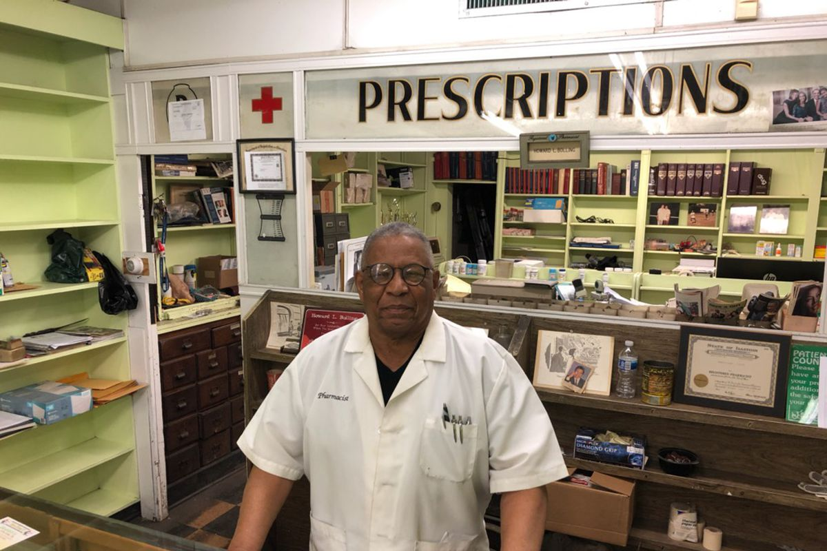 Howard Bolling has operated Roseland Pharmacy for 47 years. And, even though his store was looted two weeks ago, he's aiming to keep running the business for at least three more years.
