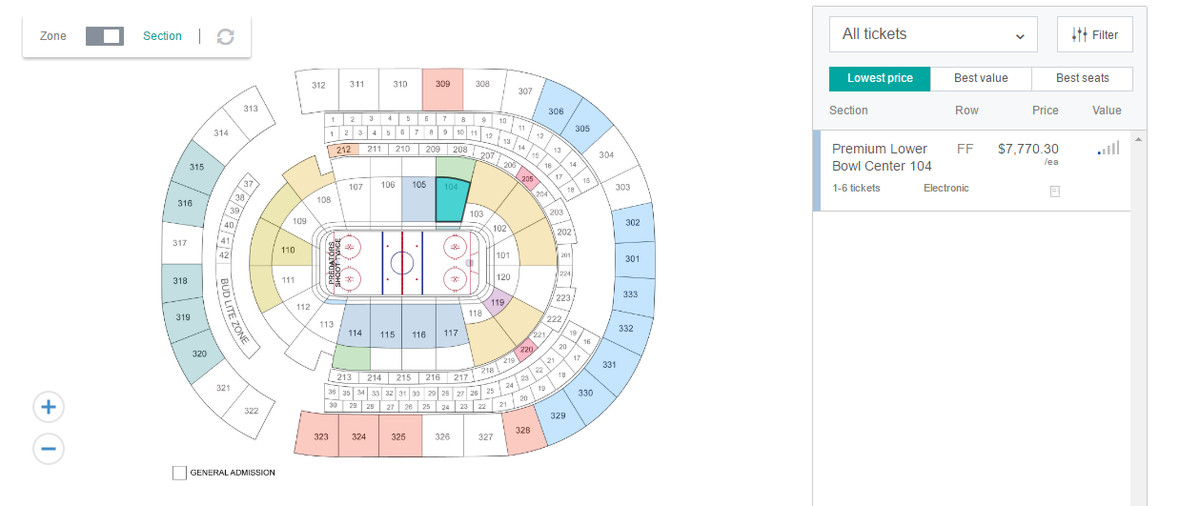 So You Want To Go To The Stanley Cup Finals In Nashville