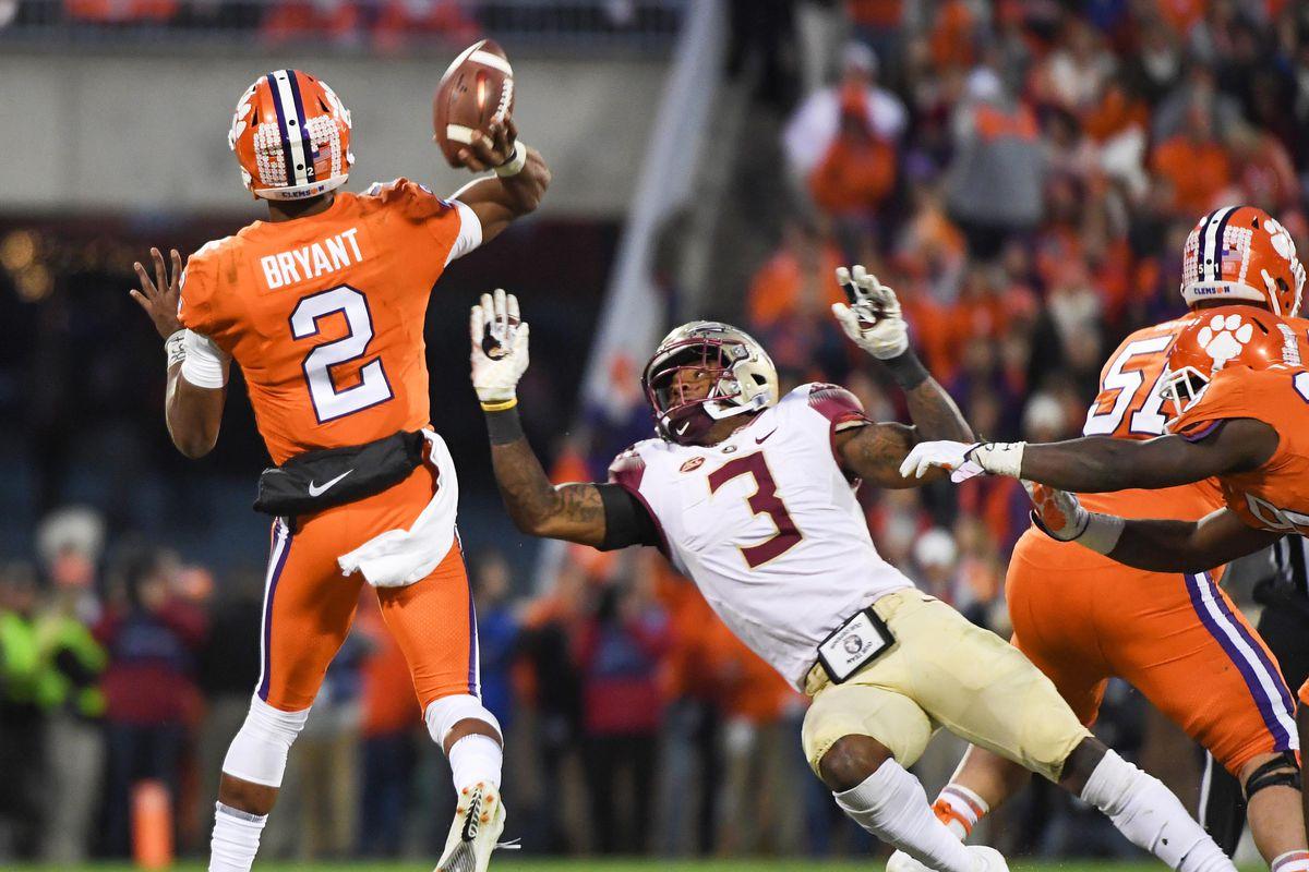 NCAA Football: Florida State at Clemson