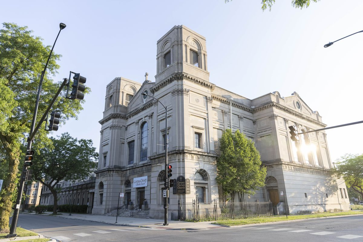 Corpus Christi Church at 4920 South King Drive in Bronzeville, Wednesday, June 9, 2021.   Anthony Vazquez/Sun-Times