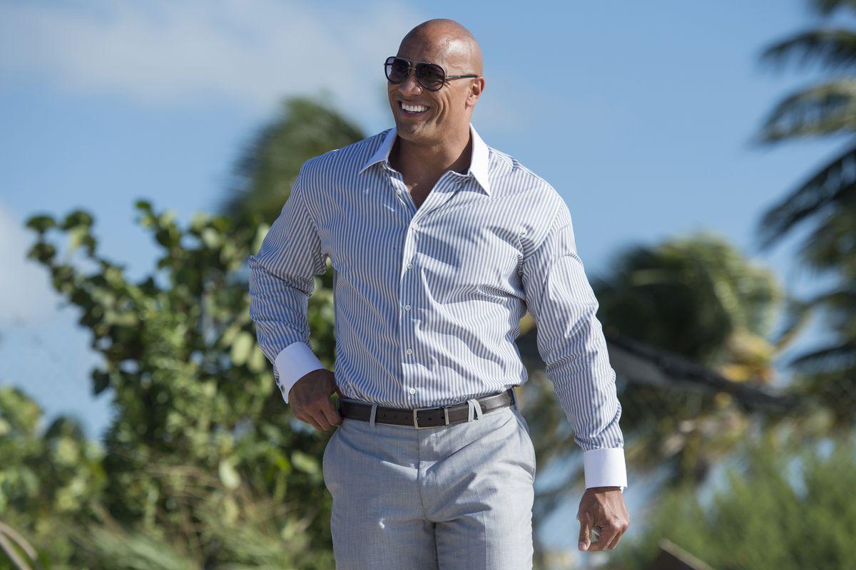 "Dwayne ""The Rock"" Johnson as Spencer Strasmore in 'Ballers'"