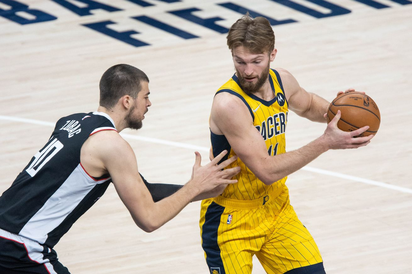 NBA: Los Angeles Clippers at Indiana Pacers