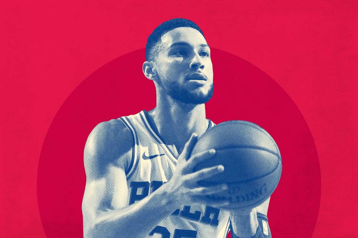 35e9a2b92 How Worried Should Sixers Fans Be About Ben Simmons s Jumper  - The ...