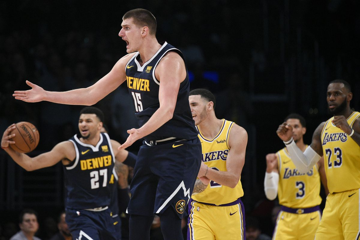 preview nuggets host lonzo ball and the lakers and also that