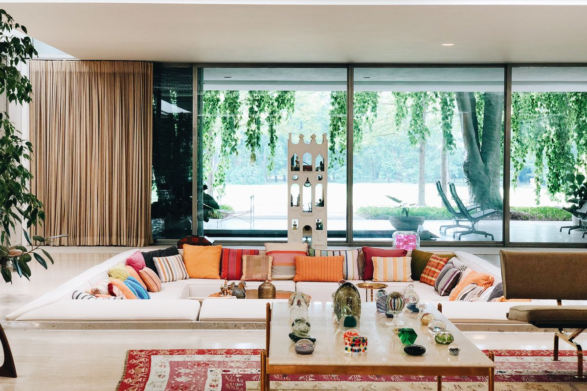 Image of: The Miller House In Columbus Indiana Is America S Best Midcentury Modern House Curbed