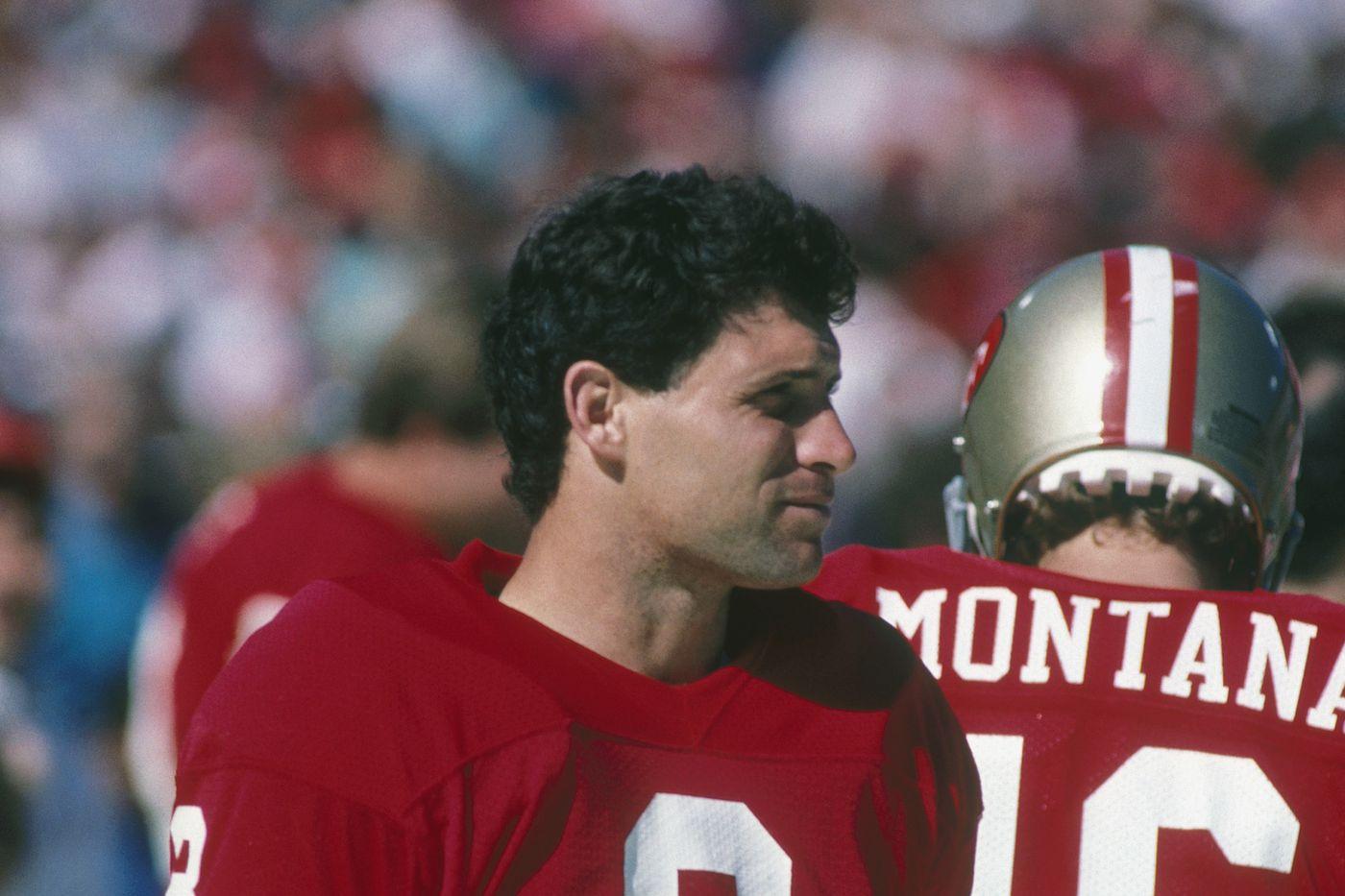 Starting lineup Joe Montana  1992 San Francisco 49ERS