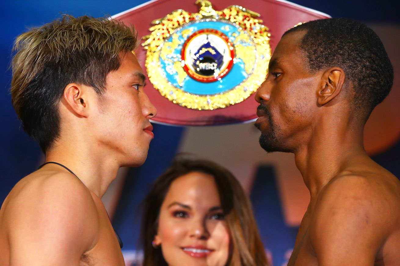Masayuki Ito vs Jamel Herring faceoff.0 - Ito-Herring: Live coverage, 6:30 pm ET