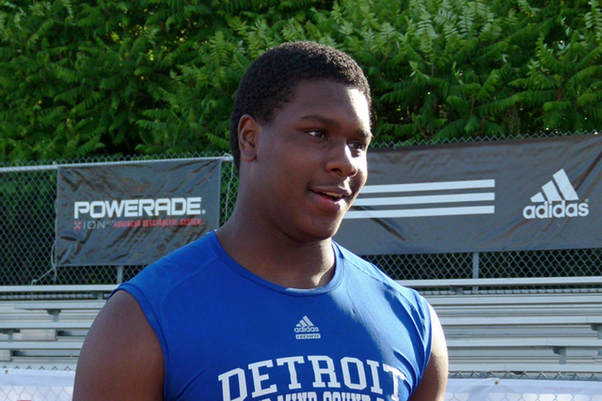 MI defensive end <strong>Malik McDowell</strong> continues to grow. He'll be a top priority for schools across the country because of his freakish combination of size and athleticism.