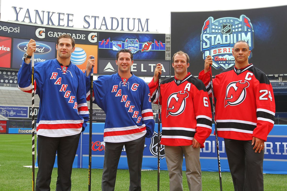 Rangers. Devils. A rivalry worthy of an outdoor game at Yankee Stadium.