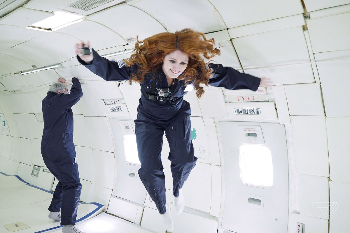 What it feels like to float in zero gravity - The Verge