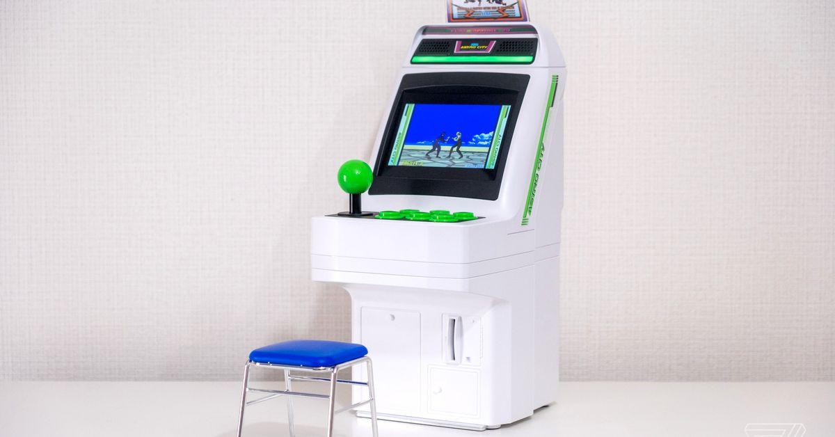 Astro City Mini review: an awesome blast through Sega's arcade past