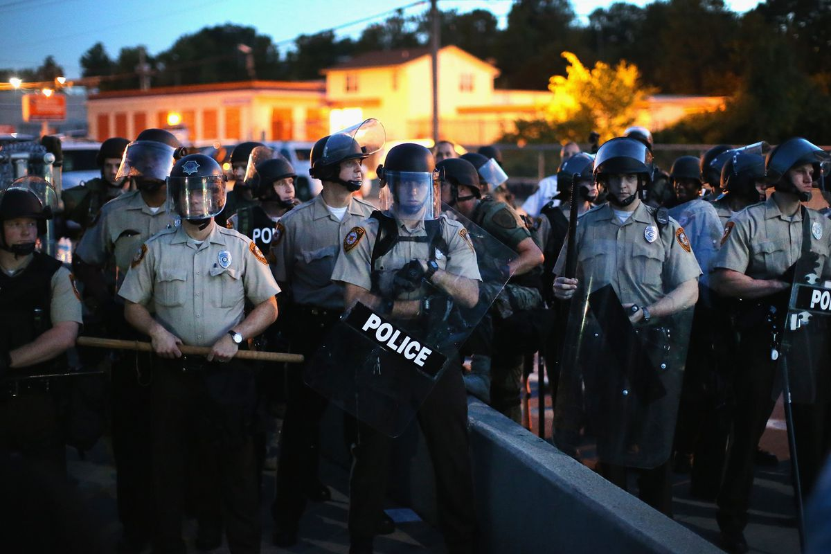 Who's in charge of these cops? It changes every night.