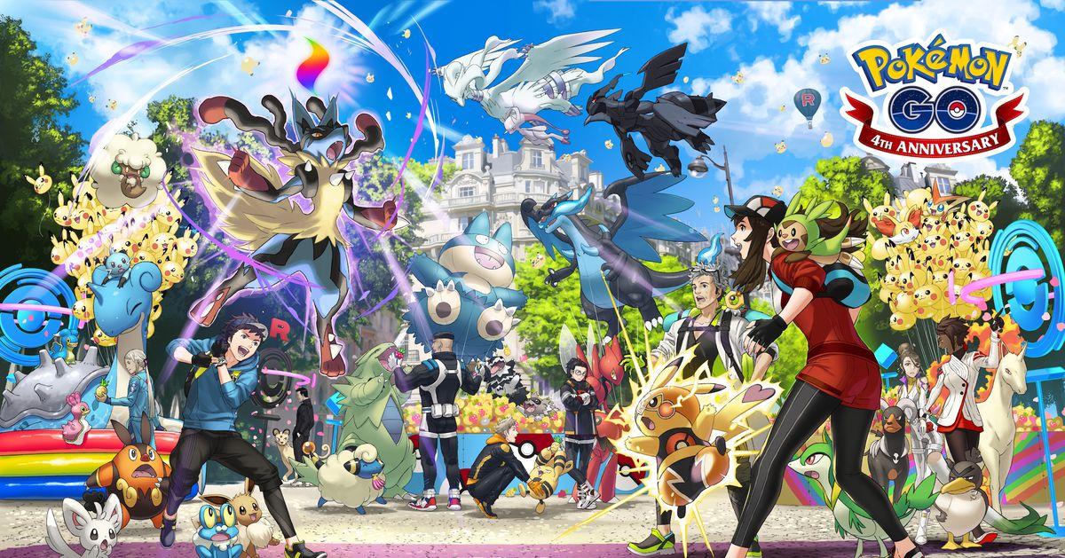 Photo of Pokémon Go artwork teases Gen 6 starters