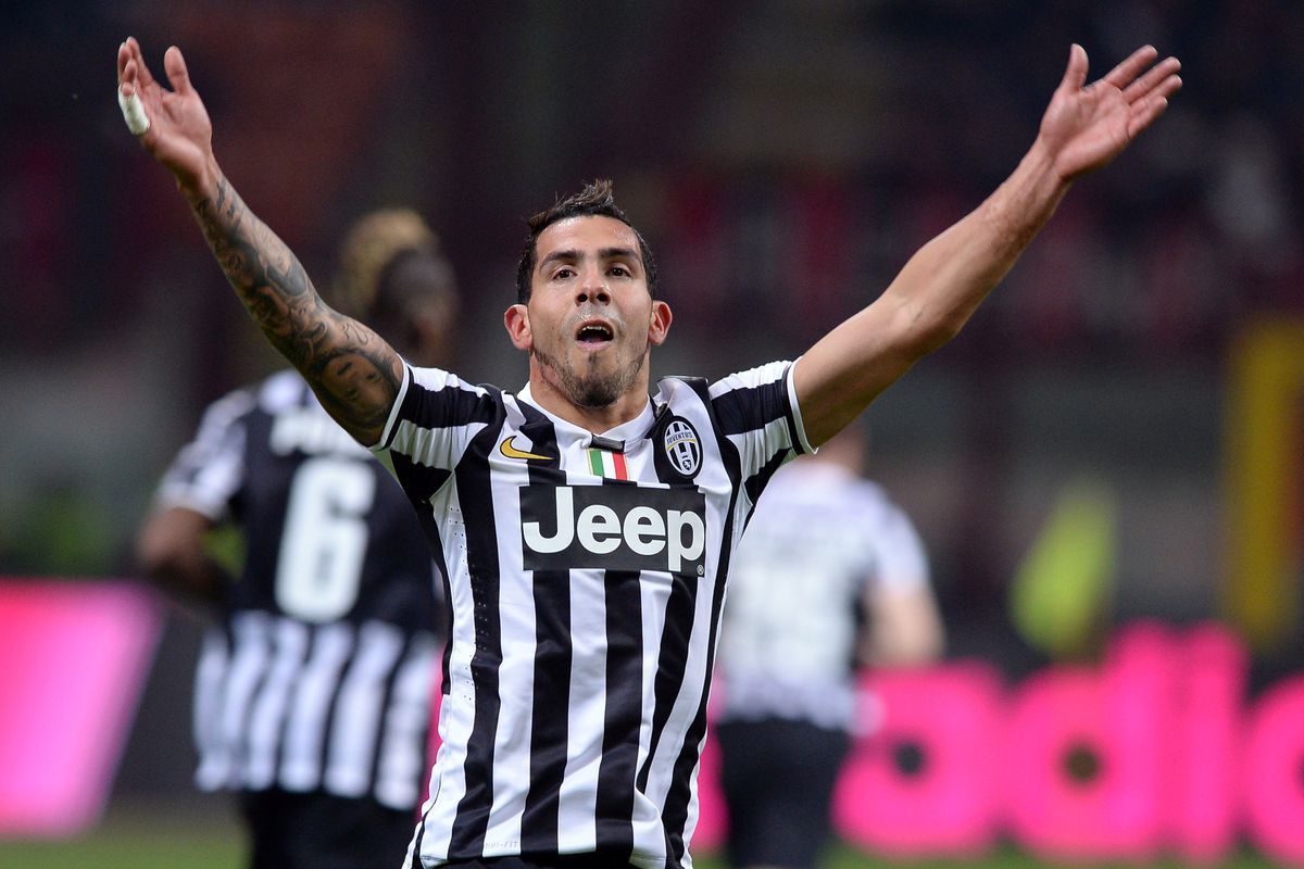 differently 1b592 b7e38 Ten things to love about Juventus' No. 10, Carlos Tevez ...