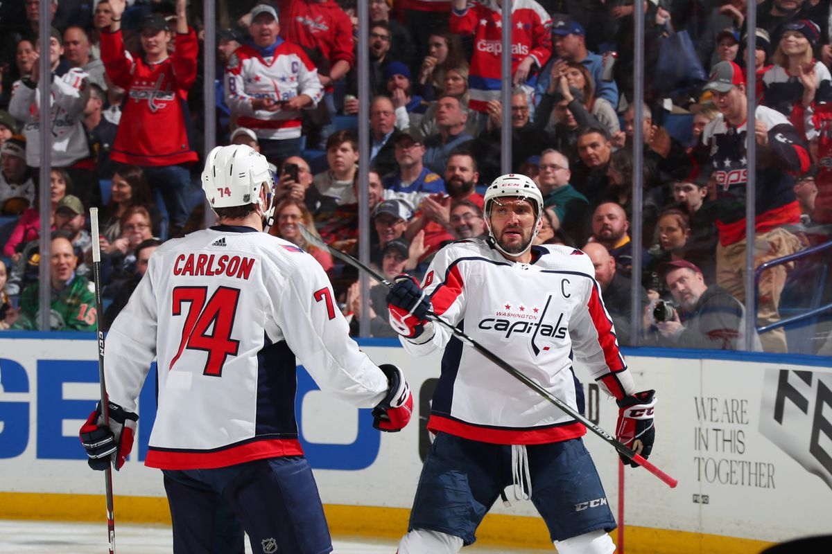 Washington Capitals v Buffalo Sabres