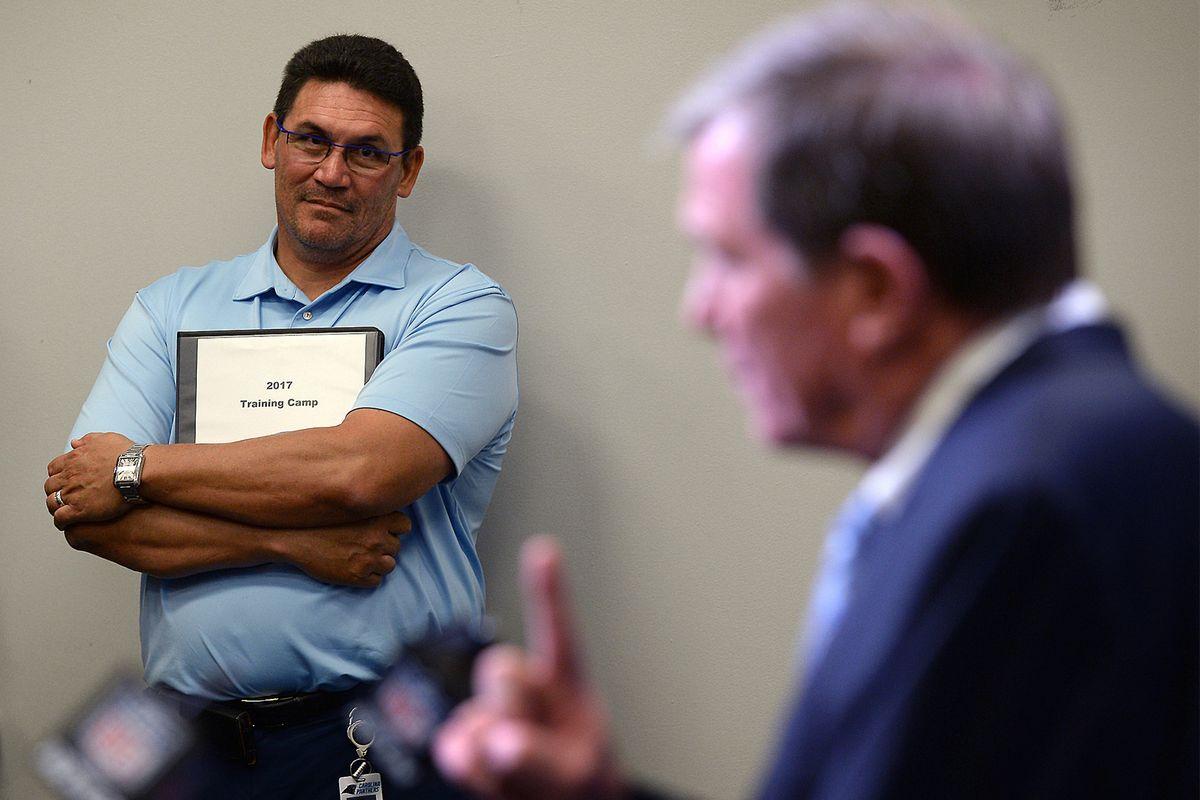 Carolina Panthers introduce new GM