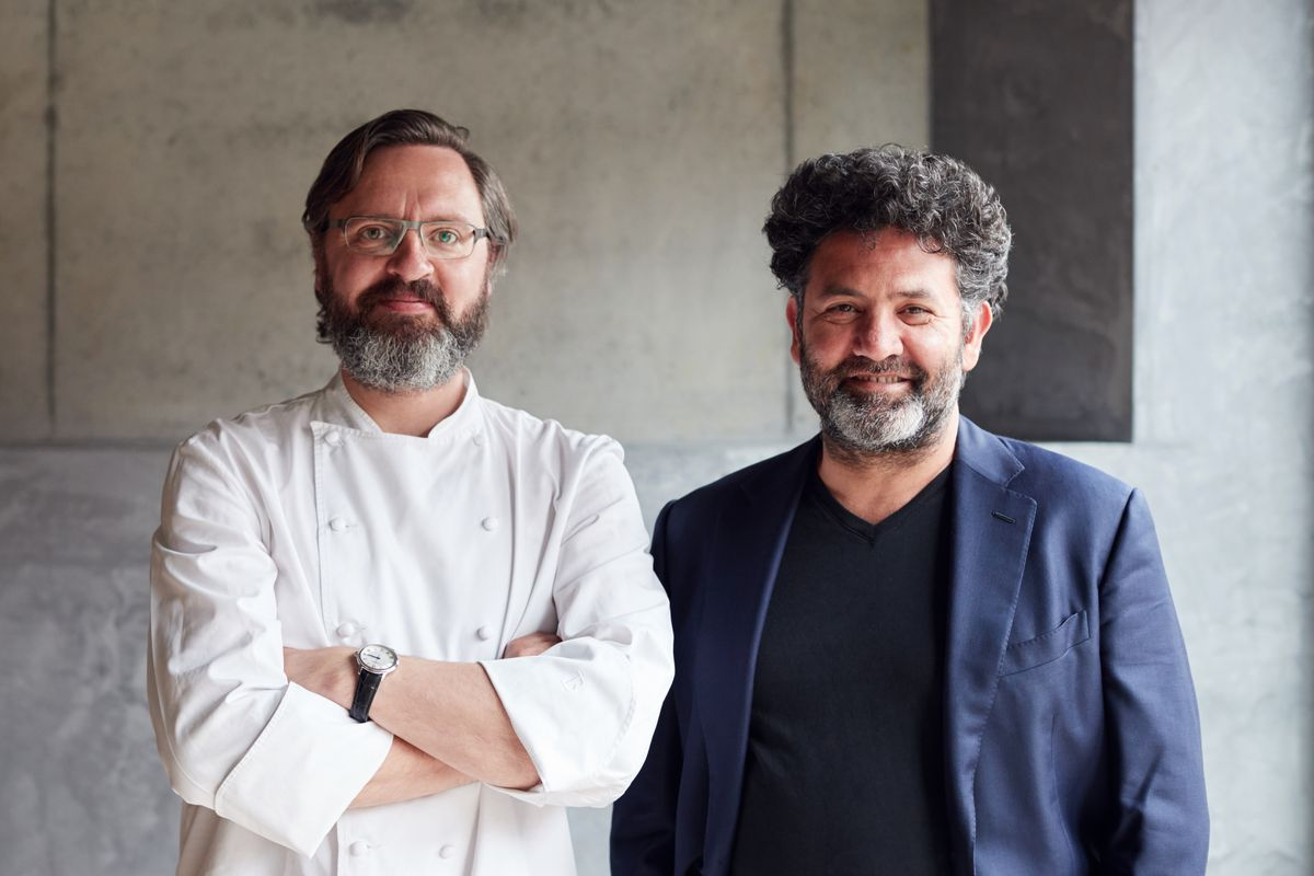 Owners: Chef Jonny Lake and sommelier Isa Bal at Trivet, a new restaurant in London Bridge with a number of staff members having moved from the three-Michelin-starred Fat Duck, Heston Blumenthal's restaurant in Bray, Berkshire
