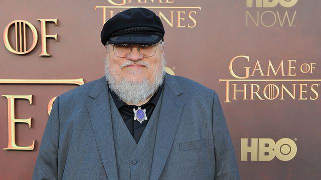 George R.R. Martin - Game of Thrones season 5 premiere