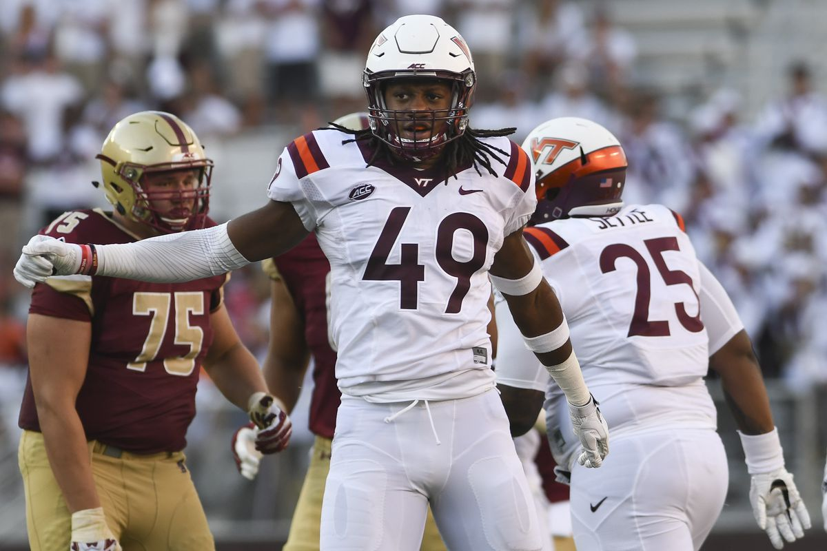 tremaine edmunds  size physicality  versatility      redskins   lb