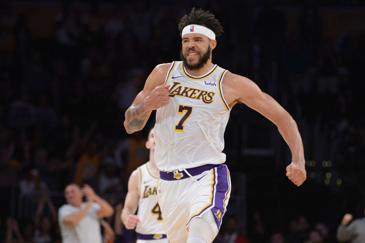 c596591b2ee JaVale McGee doesn't think noise surrounding Lakers will affect ...