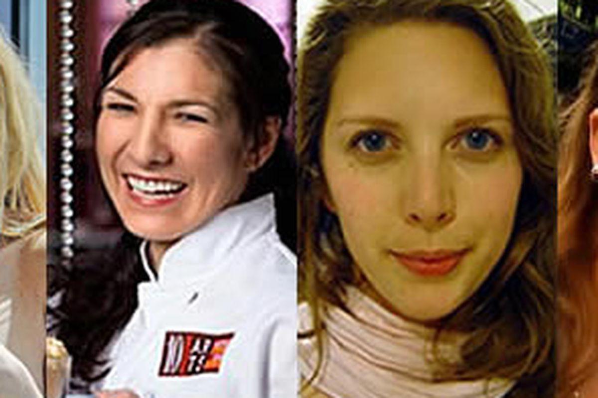 Jen Carroll (Top Chef, Concrete Blonde), Monica Glass (Fish), Jessie Prawlucki (Belle Cakery), Jessica Nolen (Brauhaus Schmitz)