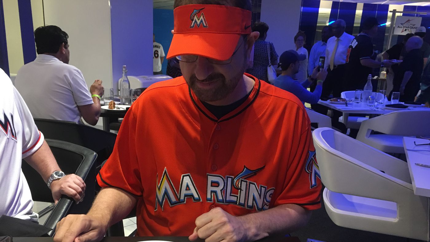 c2d3ccee164  I m not trying to be a celebrity   A night with Marlins Man at the  All-Star Game - SBNation.com