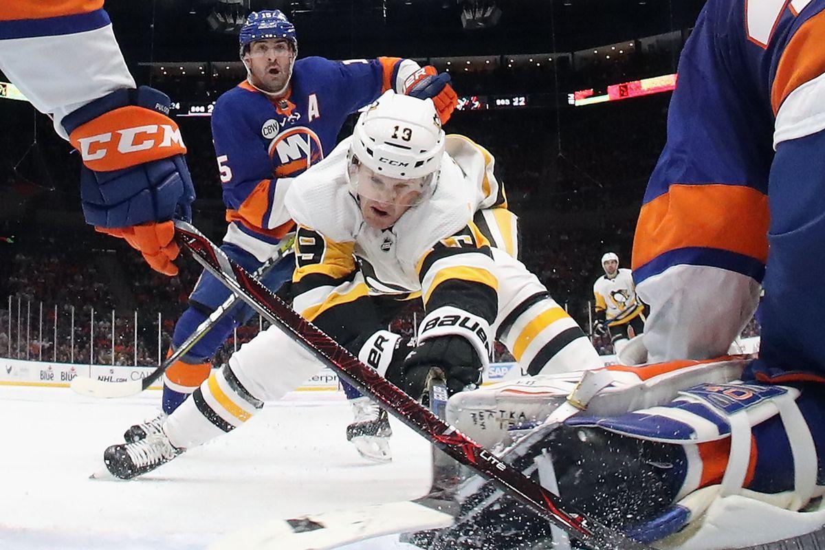Pittsburgh Penguins v New York Islanders - Game One