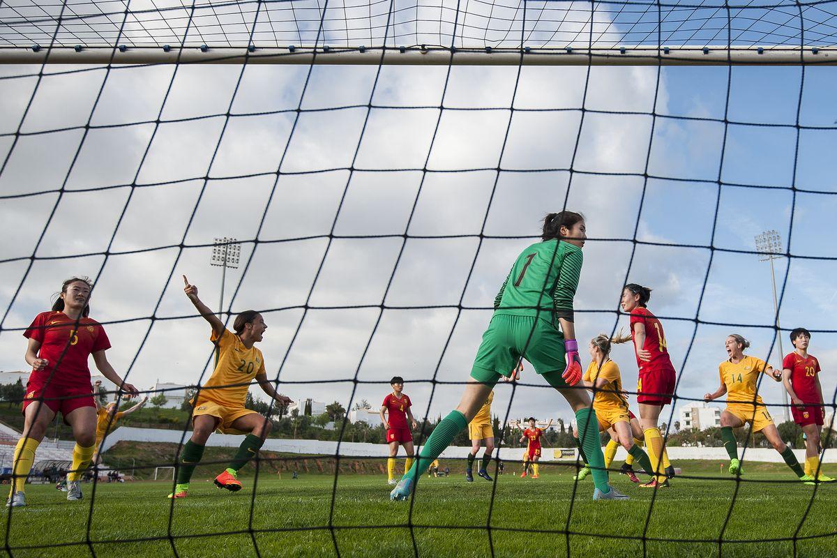 China v Australia - Women's Algarve Cup