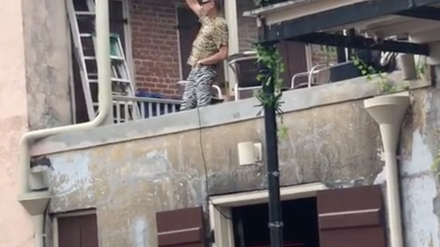 Watch Jeff Goldblum Dancing On A Roof And Have A Blessed Day