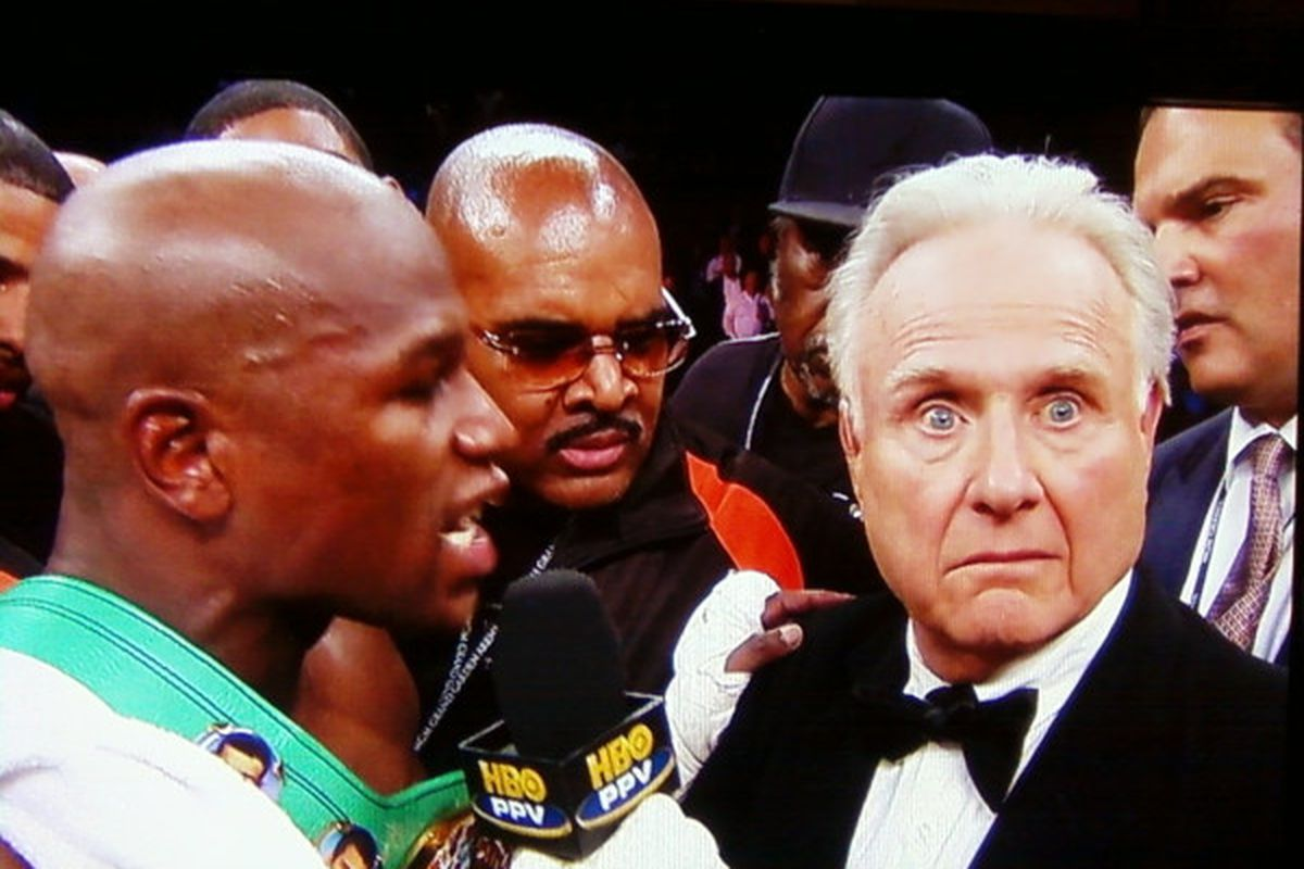 Image result for Larry Merchant Mayweather