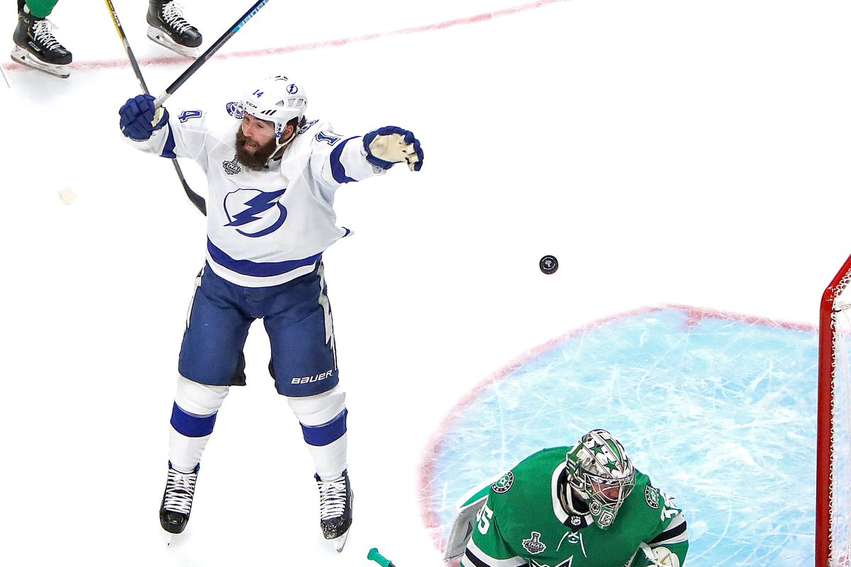 2020 Stanley Cup Champion Tampa Bay Lightning Win The Cup With 6 Game Series Win Over Dallas Stars Draftkings Nation