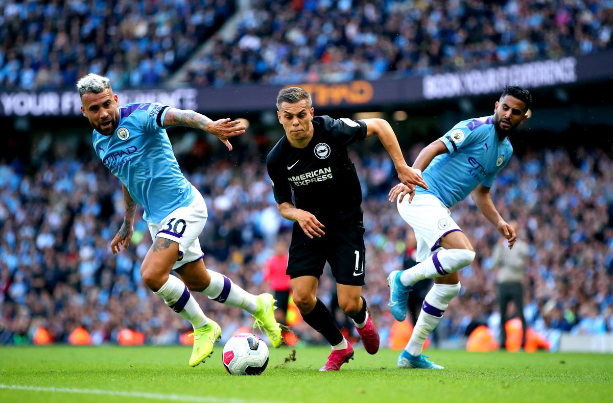 Manchester City v Brighton and Hove Albion - Premier League - Etihad Stadium