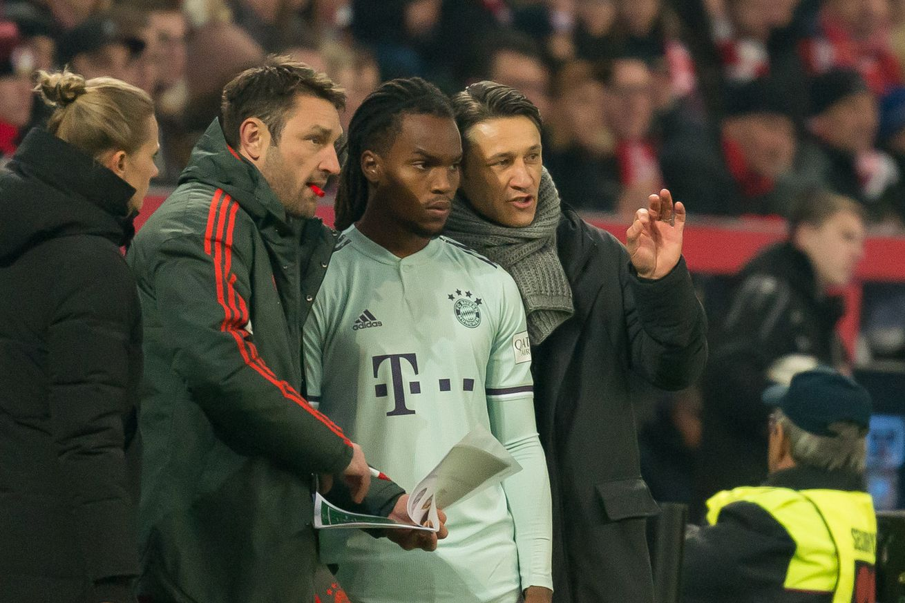 Renato Sanches still sees himself playing an important role for Bayern Munich