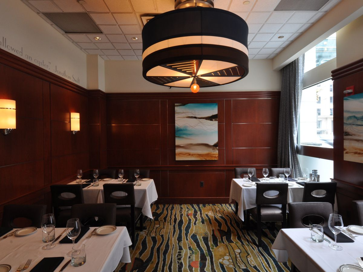 The Barracuda Room Can Accommodate Up To 20 People While Marlin Groups 50 Main Dining Is Also Available