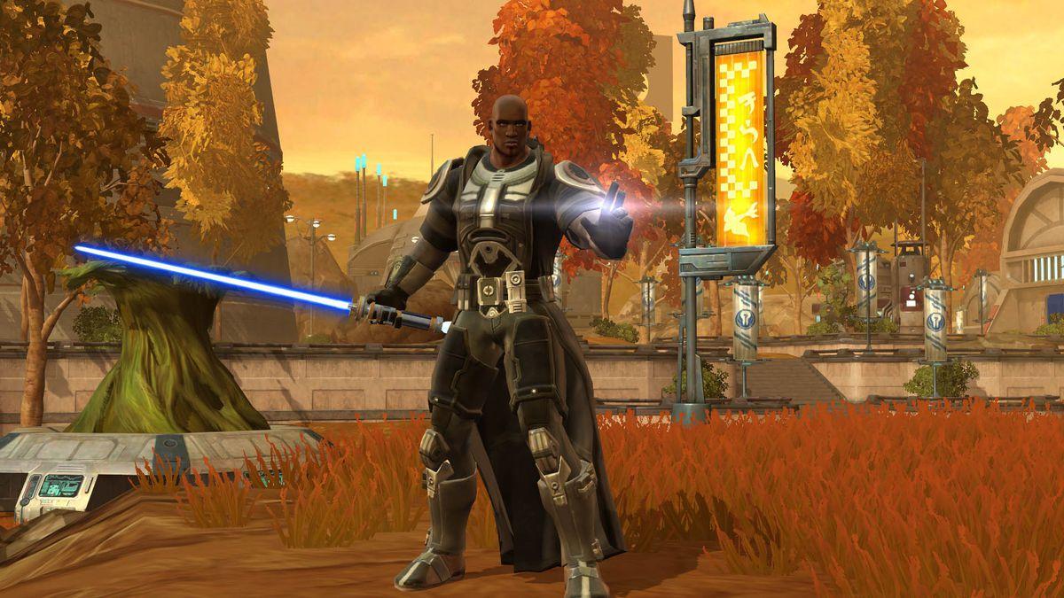 Star Wars The Old Republic - A Jedi Knight