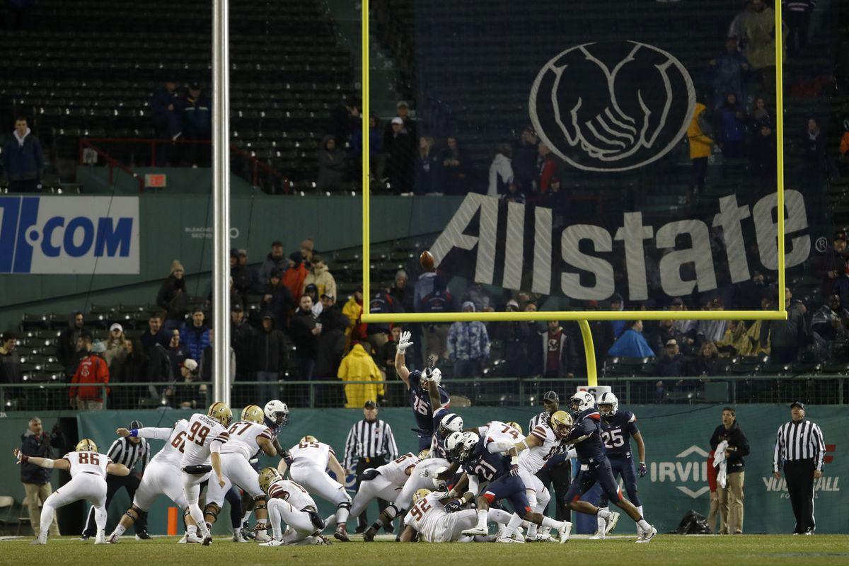 NCAA Football: Boston College at Connecticut