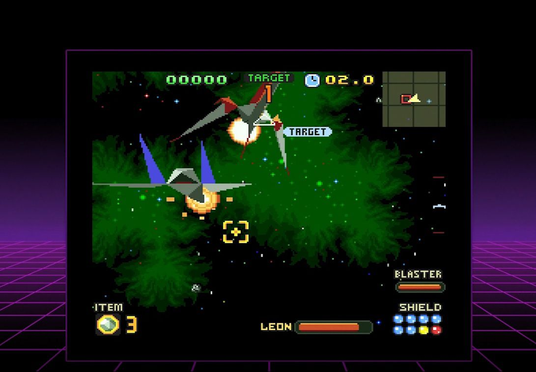 Star Fox 2 running on the SNES Classic Edition