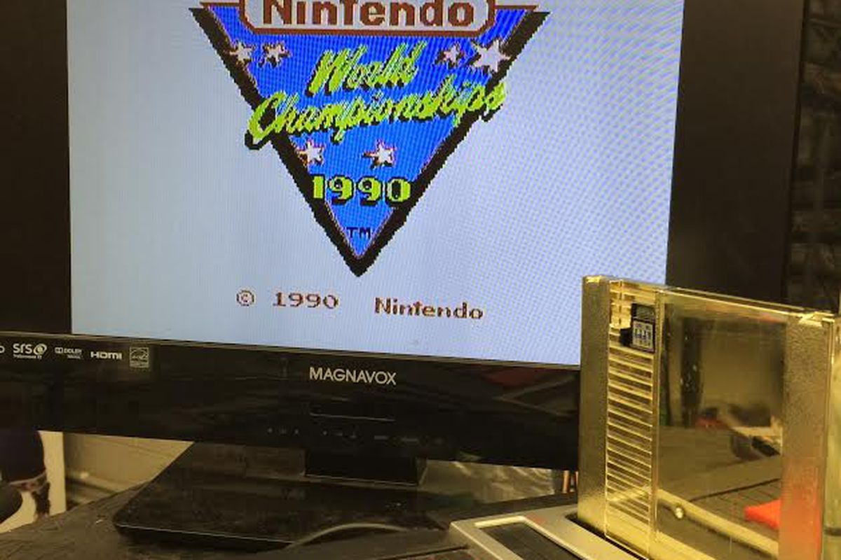 Nintendo World Championships cartridge sells for $100K on eBay - Polygon