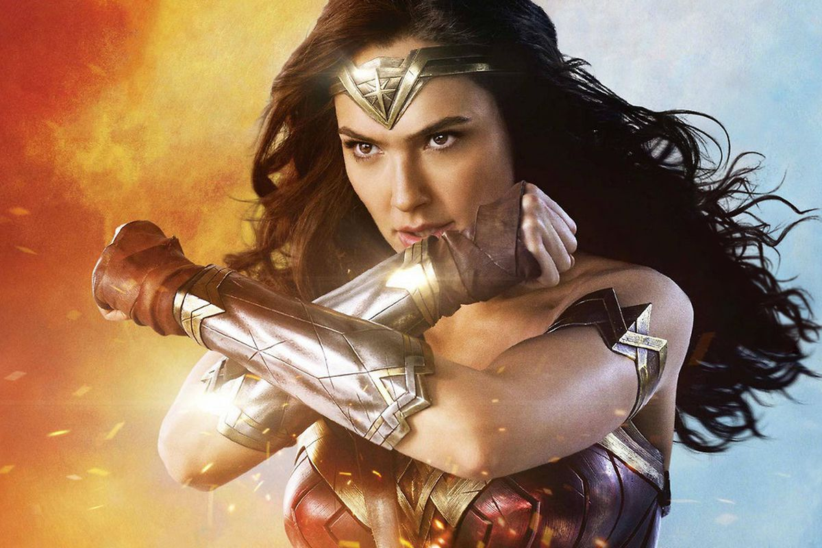 "Gal Gadget as ""Wonder Woman"""